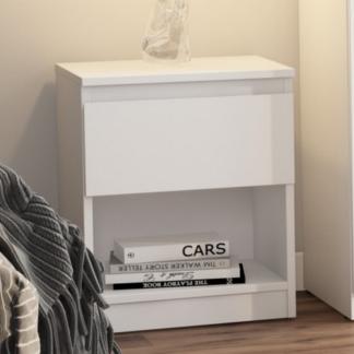 Asko Skříňka/noční stolek Carlos 401S, bílý