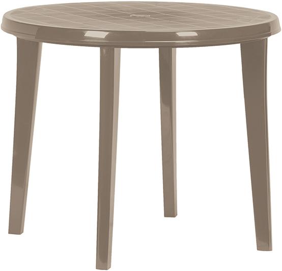 LISA stůl - cappuchino Allibert
