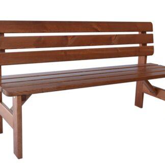 VIKING LAKOVANÁ lavice - 150 cm 180 cm Rojaplast 150 cm