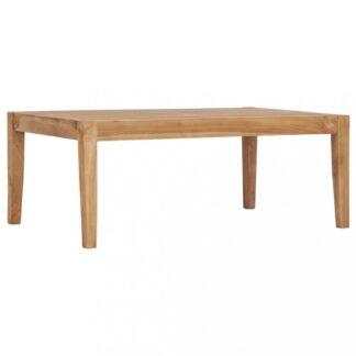 Zahradní konferenční stolek z teakového dřeva Dekorhome