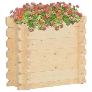 Zahradní truhlík 100x50x87,8 cm smrkové dřevo Dekorhome