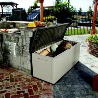Zahradní úložný box 495l plastový Dekorhome