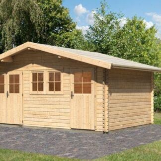 Dřevěný zahradní domek 507 x 327 cm Dekorhome