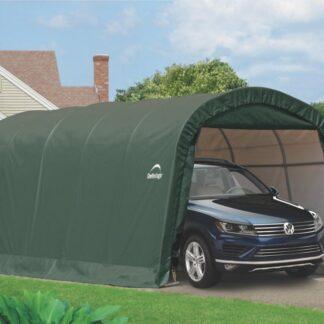 Náhradní plachta pro garáž 3,7 x 6,1 m zelená Dekorhome