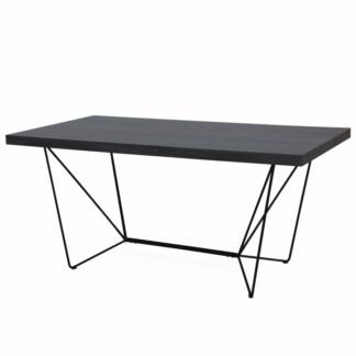 Jídelní stůl PALMER šedá / černá Tempo Kondela