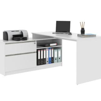 Monoblok stolový GP01, bílá/beton