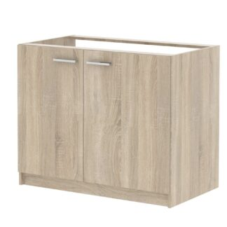 Skříňka dvoudveřová pod dřez SMART 22, dub sonoma