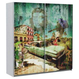 Möbelix Skříň S Posuvnými Dveřmi Plakato Cuba