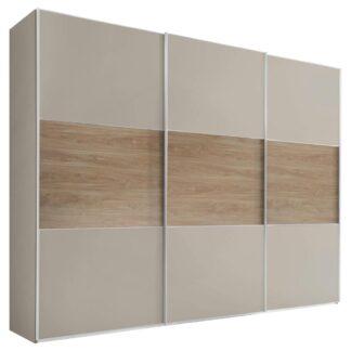 Möbelix Skříň S Posuvnými Dveřmi Includo 298 Cm Sand/puccini