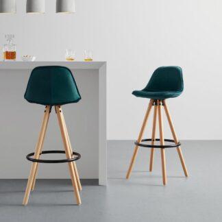 Möbelix Barová Židle Celia Zelená