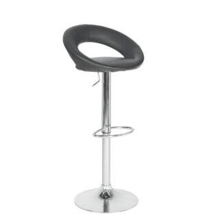 XXXLutz Barová Židle Černá Barvy Chromu Carryhome