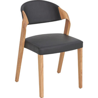 XXXLutz Židle Černá Barvy Dubu Voglauer