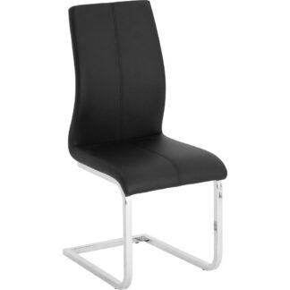 XXXLutz Houpací Židle Černá Barvy Chromu Dieter Knoll