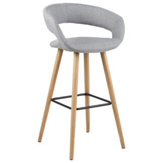 XXXLutz Barová Židle Světle Šedá Carryhome