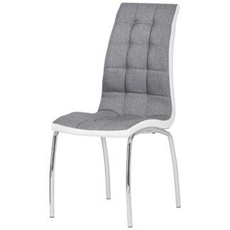 XXXLutz Židle Šedá Bílá Cantus