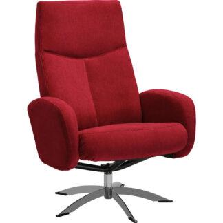 XXXLutz Relaxační Křeslo Textil Červená Welnova