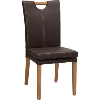 XXXLutz Židle Hnědá Barvy Dubu Venda