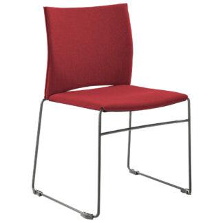 XXXLutz Židle Šedá Červená