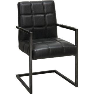 XXXLutz Židle S Područkami Černá Ambia Home