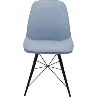 XXXLutz Židle Černá Světle Modrá Carryhome