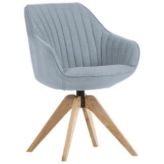 XXXLutz Židle S Područkami Světle Modrá Hom`in