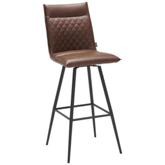 XXXLutz Barová Židle Hnědá Černá Xora