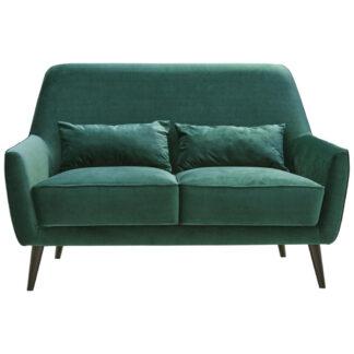 XXXLutz Dvoumístná Pohovka Textil Tmavě Zelená Carryhome