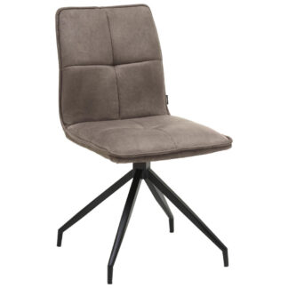XXXLutz Židle Hnědá Černá Hom`in
