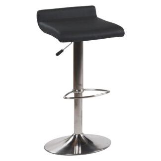 XXXLutz Barová Židle Černá Barvy Nerez Oceli Dieter Knoll