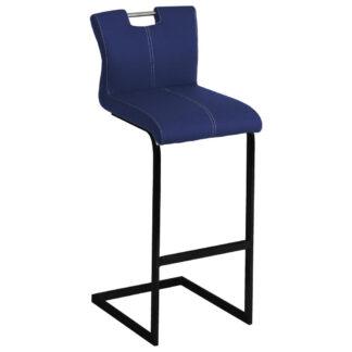 XXXLutz Barová Židle Modrá Černá Dieter Knoll