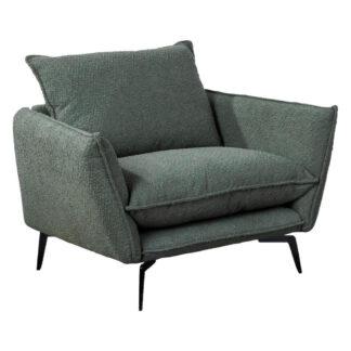 XXXLutz Křeslo Textil Olivově Zelená Hom`in
