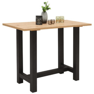 XXXLutz Barový Stůl Černá Barvy Dubu Carryhome