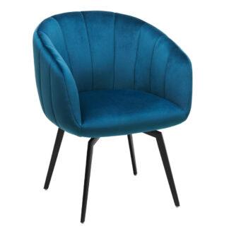 XXXLutz Židle Modrá Černá Ambia Home