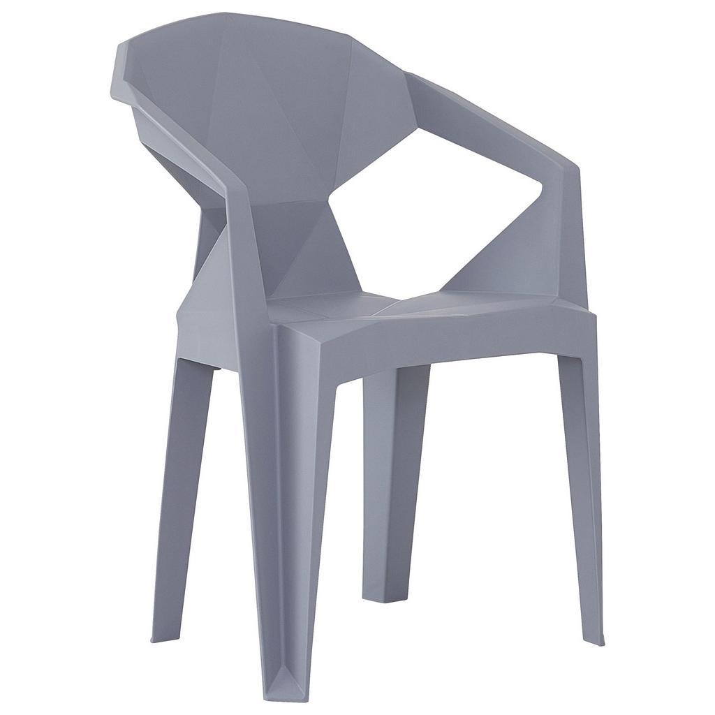 Möbelix Židle Eli Šedá