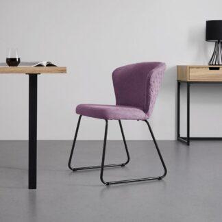 Möbelix Jídelní Židle Tiffany Růžová