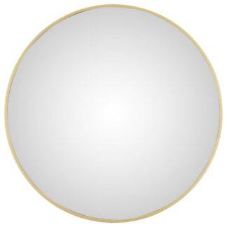 Möbelix Nástěnné Zrcadlo Konkav Zlatá 45 Cm