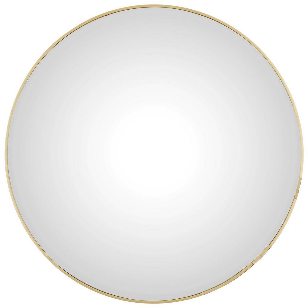 Möbelix Nástěnné Zrcadlo Konkav Zlatá 60 Cm