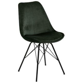 Möbelix Jídelní Židle Eris Tmavě Zelená