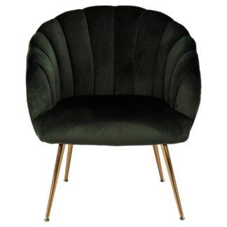 Möbelix Lounge Křeslo Daniella Tmavě Zelená