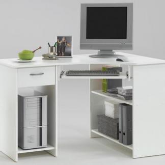Asko PC stůl Felix 1, bílý