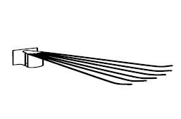 Asko Držák na kalhoty Typ 002-869