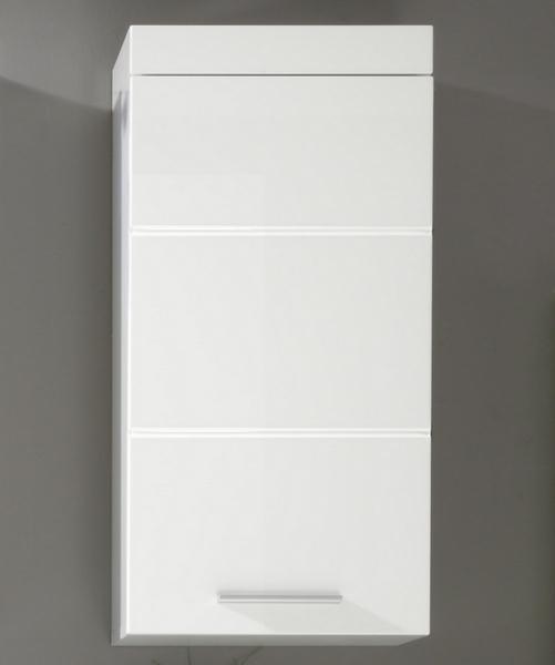 Asko Koupelnová závěsná skříňka Amanda 501, lesklá bílá