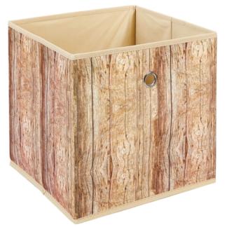 Asko Úložný box Wuddi 3, motiv dřeva