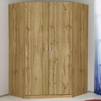 Asko Rohová šatní skříň Case, dub wotan