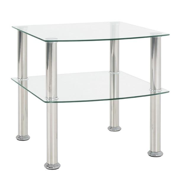 Asko Odkládací stolek Katja 2, čiré sklo