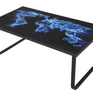 Asko Konferenční stolek Cruz, motiv modrá mapa