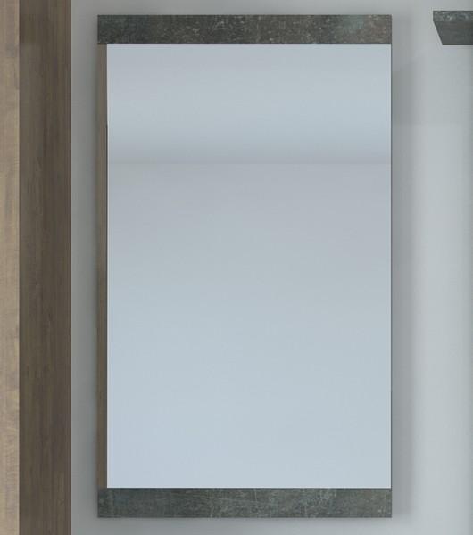 Asko Nástěnné zrcadlo Askon 52, tmavý beton