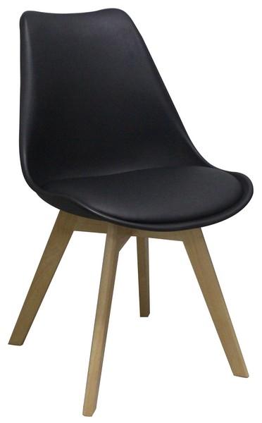 Asko Jídelní židle Larsson, černá