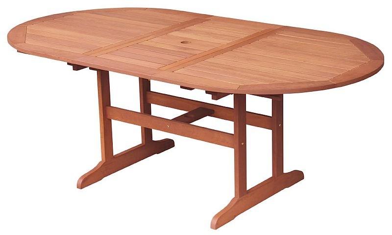 Asko Rozkládací zahradní stůl Oval 152x107 cm