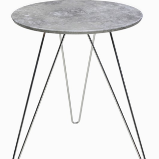 Asko Odkládací stolek Hamilton, šedý beton